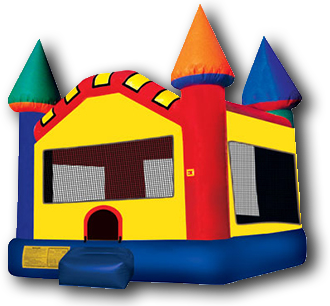 big bounce house castle
